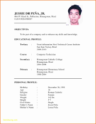 Standard Resume Format Doc Best Of Resume Templates Doc Download