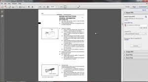 Toyota Engine 1ZZ FE Repair Manual - YouTube