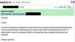 Bad Cover Letter Examples That People Actually Applied To Jobs With