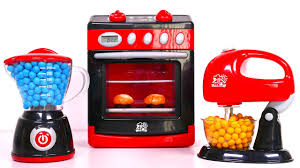 Mickey Mouse Kitchen Appliances Cooking With Kitchen Oven And Play Doh Blender And Mixer Playset