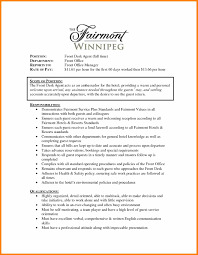 Sample Hotel Resume Front Desk Agent Resume Sampleshotel Front Office Assistant Resume 39