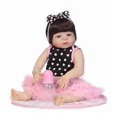 """NPK <b>19</b>"""" 46cm <b>Full</b> Body <b>Silicone</b> Reborn Baby Girl Dolls Reborn ..."""