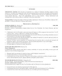 Resume Sample For Administrative Assistant Position Administrative ...