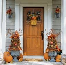 Image result for fall front door decor