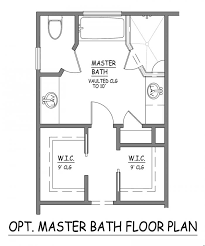 master bathroom designs floor plans. i like this master bath layout. no wasted space. very efficient. separate closets bathroom designs floor plans a