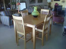 dining room sets 4 chairs gorgeous blonde counter height dining room table with an internal