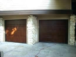medium size of excellent garage door gap bottom idea has at side draft stopper garage ideas