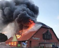 Holt Budgens supermarket fire caused by electrical fault - BBC News