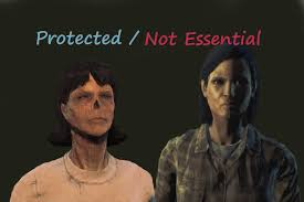 not essential.  Not NPCs Protected Not Essential For FO4 In O