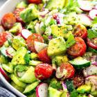avocado salad toss