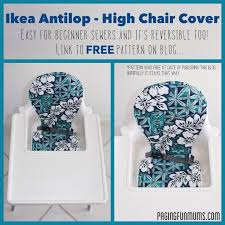 ikea antilop high chair cover louise