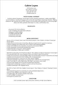 Assistance In Writing A Resumes Professional Airport Passenger Service Agent Templates To Showcase