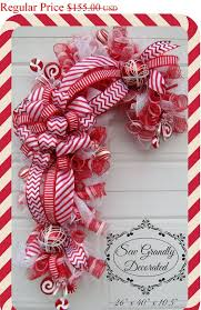 Felt Christmas Candy Cane Decoration Scissors Paper Template Christmas Crafts Using Candy Canes