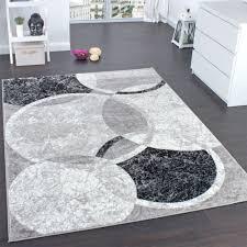 designer rug living room rug circular pattern in grey cream unbeatable deal