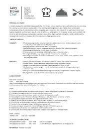Cook Resume Examples Pelosleclaire Com