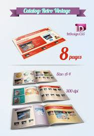 catalog template free catalog template indesign freebie tutorials pinterest