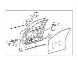 door trim parts exploded view need part Mercedes Benz Forum