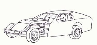Small Picture Modified Race Car Coloring Pages Open Wheel Modified 2 Dream
