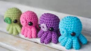 Octopus Crochet Pattern Extraordinary Baby Octopus Amigurumi Crochet Pattern
