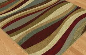 rug medium size of 5 x ft area rugs multi color contemporary waves abstract lines 5x5