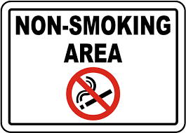 No Smoking Signage Non Smoking Area Sign By Safetysign Com