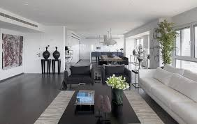 Gray And White Interior Design