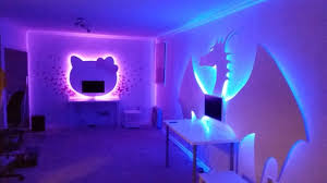 hue lighting ideas. Dragon And Hello Kitty Computers Hue Lighting Ideas I