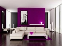 Purple And Black Living Room Wall Paintings For Living Room Interior Design Purple Designing Living Room Ideas For Decorating Living Room Design Your Home Magazines Decor Best Interior