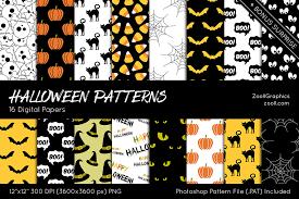 Halloween Patterns Interesting Decorating Design