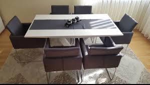 Esszimmer Mit 6 Stühlen Couchtisch Tv Board In 76571
