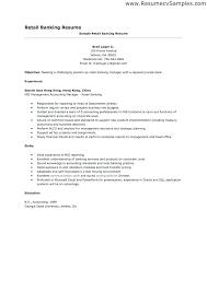 Retail Job Resume Retail Job Responsibilities Resume Noxdefense Com