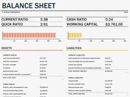 balance sheet template balance sheet template microsoft excel templates