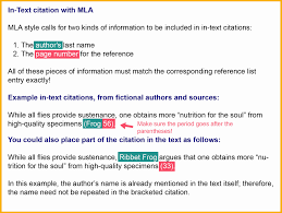 Mla Quote Citation Example Elegant Mla Works Cited Notes