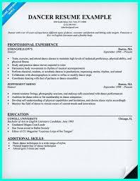 Resume Format For Dance Teacher Dance Teacher Cover Letter Template
