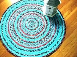 8x11 braided rug round furniture row capital one
