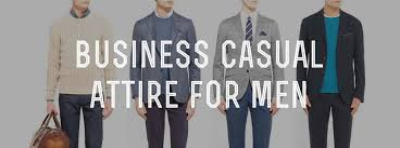 <b>Business Casual Men's</b> Attire & Dress Code Explained ...