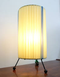 Yellow Wire Table Lamp 1960s 106748