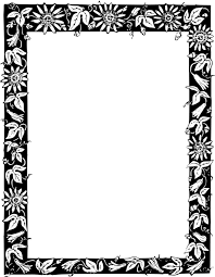 black and white borders and frames picture frames decorative arts ornament