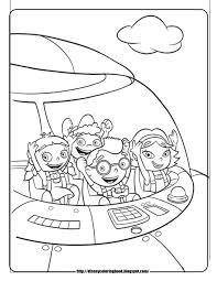 Small Picture LITTLE EINSTEINS Coloring Pages With Little Einsteins Coloring