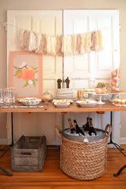 Peach Kitchen 17 Best Ideas About Peach Baby Shower On Pinterest Gold
