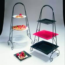 Steel Stands For Display 100 Strawberry Street 100Tier Square Plate Display Stand Stainless 59