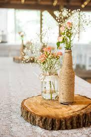 Mason Jar Table Decorations Wedding Stylish Idea Rustic Table Decorations Wedding Centerpieces 63