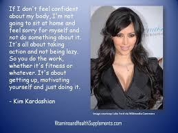 Kim Kardashian Quotes Gorgeous Kim Kardashian On Fitness And Motivation