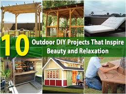 Diy Backyard Projects 10 Outdoor Diy Projects That Inspire Beauty And Relaxation Diy