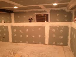 how to drywall basement pictures