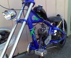 chopper bicycle showcase