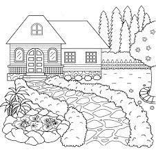 4 lợi ích bé tô màu ngôi nhà qua qua 7 mẫu tranh cơ bản