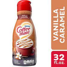 Roasted daily & guaranteed fresh! Nestle Coffee Mate Vanilla Caramel Liquid Coffee Creamer 32 Fl Oz Instacart