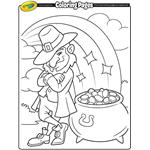 Small Picture St Patricks Day Free Coloring Pages crayolacom