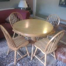 round pine dining table and chairs solid pine round dining table and 4 chairs oregon pine